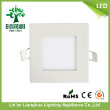 가정 Use Energy Saving 4W Thin Square Shape LED Panel