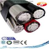 Câbles Électriques Isolés par XLPE en Aluminium D'ABC de Conducteur (JKLYJ)