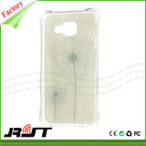 Caja a prueba de choques del teléfono del amortiguador de aire TPU para la aduana de Samsung impresa