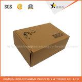 Caja de cartón de encargo reciclable de Kraft de la insignia de la impresión del mejor precio