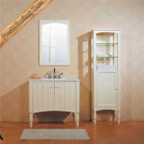 Пол - установленная ванная комната Cabinet Solid Wood