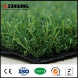 fábrica artificial sintetizada natural de la hierba de 25m m para el lugar del ocio