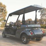 vehículo utilitario eléctrico legal certificado Ce de la calle del motor de la C.C. 48V con 4 asientos (DG-LSV4)