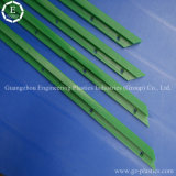 工場顧客用プラスチック製品のプラスチックUHMW-PE突き出るガイド・レール