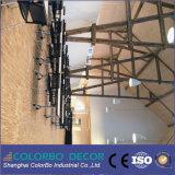 De lãs de madeira da fibra da absorção sadia painel de teto acústico