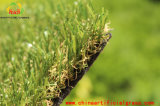Realisti 30mm a strati e tappeto erboso artificiale molle dell'erba