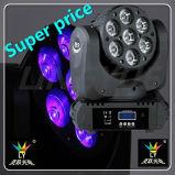 Más Barato 4en1 7X15W RGBW Haz LED Cabeza Móvil