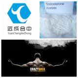 Acetaat cas1045-69-8 van het Testosteron van Bodybuilding Wit of Wit Kristallijn Poeder