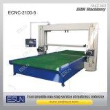 Ecnc-2100-5 CNC 수평한 수직 잎 거품 절단기