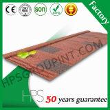 Da pedra colorida à moda quente dos materiais de telhadura da venda de África telhas de telhado revestidas do metal