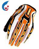 Перчатка Motocross вспомогательного оборудования мотоцикла имитационного Microfiber