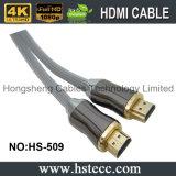 o ouro do cabo do elevado desempenho HDMI de 50FT chapeou para o cabo do xBox 360 da HDTV PS3