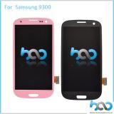Индикация LCD запасных частей мобильного телефона агрегата экрана касания для галактики S3 I9300 Samsung
