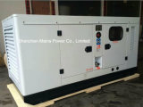 тип комплект резервной силы 110kVA 88kw молчком генератора Cummins тепловозный