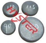 Les pièces d'assemblage de position de pièces d'usure d'excavatrice ont meulé les boutons s'engageants d'usure d'outils