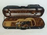 Случай скрипки переклейки цвета высокого качества трудный