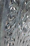 Gegoten aluminium Tuin Outdoor Furniture Dineren Reeks