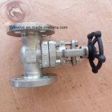 API602 150lb forjou a válvula de porta da extremidade da flange do aço inoxidável F316L