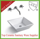 Lavabo en céramique de salle de bains de conformité de S1004-014 UPC