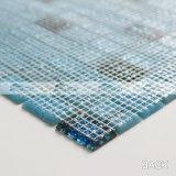 青い組合せスタック結束の熱い溶解のガラスモザイク・タイル(BGZ011)