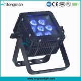 Super Bright CE 7X10W RGBW 4in1 imperméable LED PAR Can Lighting