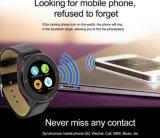 Reloj elegante del dispositivo usable de Smartwatch Bluetooth del teléfono móvil del sueño del podómetro
