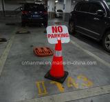 주차 표시 없이 새로운 디자인 PVC 교통 안전 콘