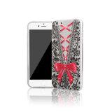 Projetar a caixa macia impressa do telefone móvel de TPU para o iPhone 6 positivo