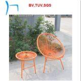 F- 쌓을수 있는 등나무 가구 계란 정원 대나무 의자 (CF777t+CF777c)