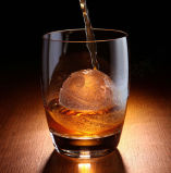 Оптовый горячий поднос кубика льда силикона круглой формы надувательства