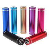 대중적인 디자인 2600mAh 휴대용 USB 이동 전화 힘 은행