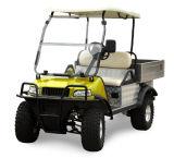 Электрическая миниая тележка груза тележки (желтый цвет DEL2023DUBS, 2-Seater)