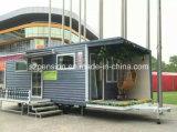 Barra de café portable/casa móviles prefabricadas del bajo costo de la alta calidad/prefabricadas