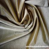 Tela de tapicería aplicada con brocha de la cortina del apagón del poliester