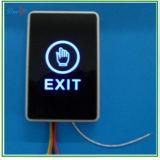 ZUGRIFFSSTEUERUNG-Noten-Ausgangs-Taste zwei Farben-LED helle Infrarotkein Nc-Drucktastenschalter