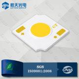 La pequeña MAZORCA luminosa LED CRI80 del área 2W calienta 140lm/W blanco para la luz del punto del LED