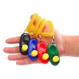 Тренировка Clicker собаки любимчика кнопки 7 цветов большая с планкой запястья руки
