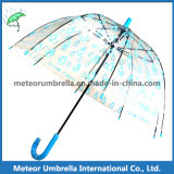 ドームChildren Bubble UmbrellaまたはClear PVC Transparent Plastic Umbrella
