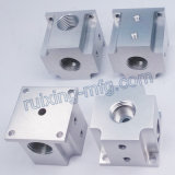 Artigos de alumínio fazendo à máquina personalizados do CNC