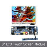 Módulo resistente del LCD del 4:3 de la pantalla táctil con la visualización de LED de 8 pulgadas