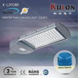 Luz de rua da carcaça do diodo emissor de luz da eficiência elevada 90W
