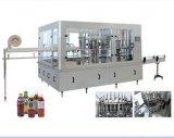 Macchina di rifornimento della spremuta/bottiglia di vetro con la protezione di alluminio