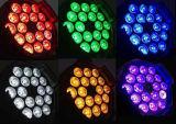 LED 단계 빛 급상승 19*12W RGBW DJ는 점화한다