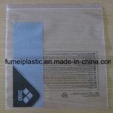 bolsos plásticos del bloqueo del cierre relámpago del LDPE de 219X300+45m m