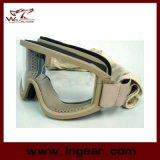 Óculos de sol táticos da compatibilidade e do esporte do capacete dos óculos de proteção do golpe do X.500 de Airsoft