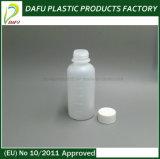 Бутылка PE сиропа 60ml пластичная с крышкой винта
