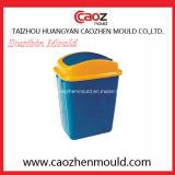 Пластичная прессформа мусорной корзины впрыски с крышкой переноса