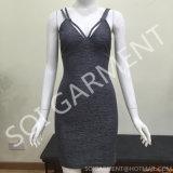 女性(DR-56)のためのセクシーな方法Bodyconの不足分の背部パーティー向きのドレス