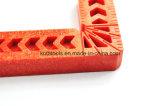Ручной резец зажимая пластичного правителя квадрата угла