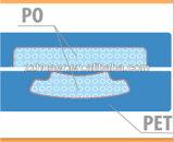 não dentes avançados do peróxido 3D que Whitening tiras com caixa confidencial